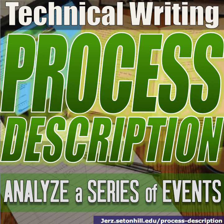 Process Description: How to Write about a Sequence of Events